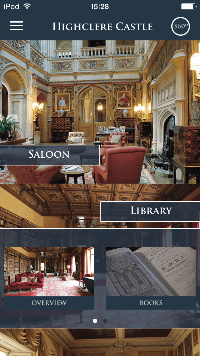 Highclere Castle Tour App