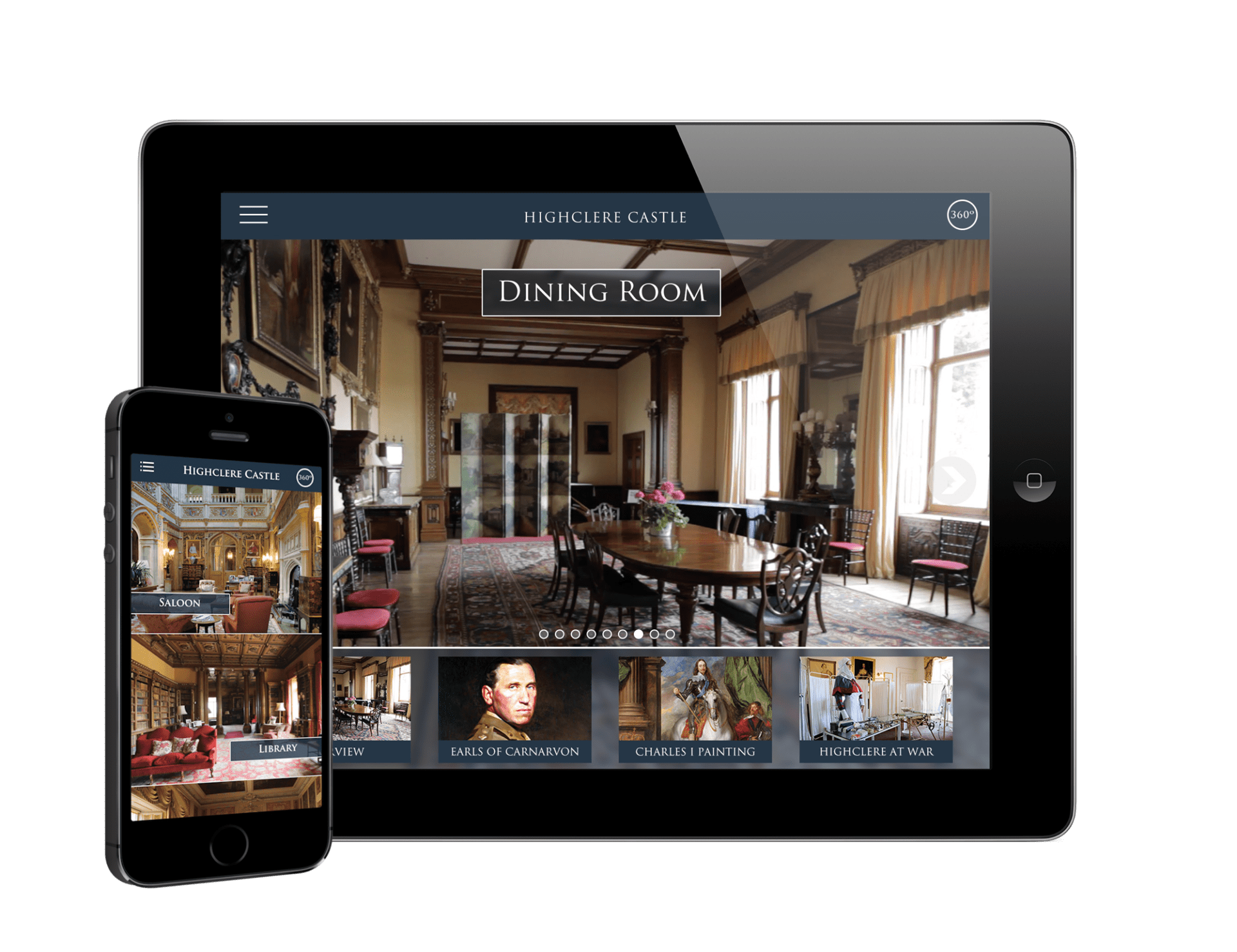 Highclere Mobile & Tablet App