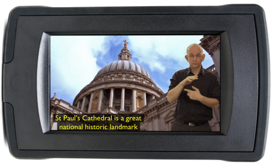 St Paul's Cathedral BSL Guide