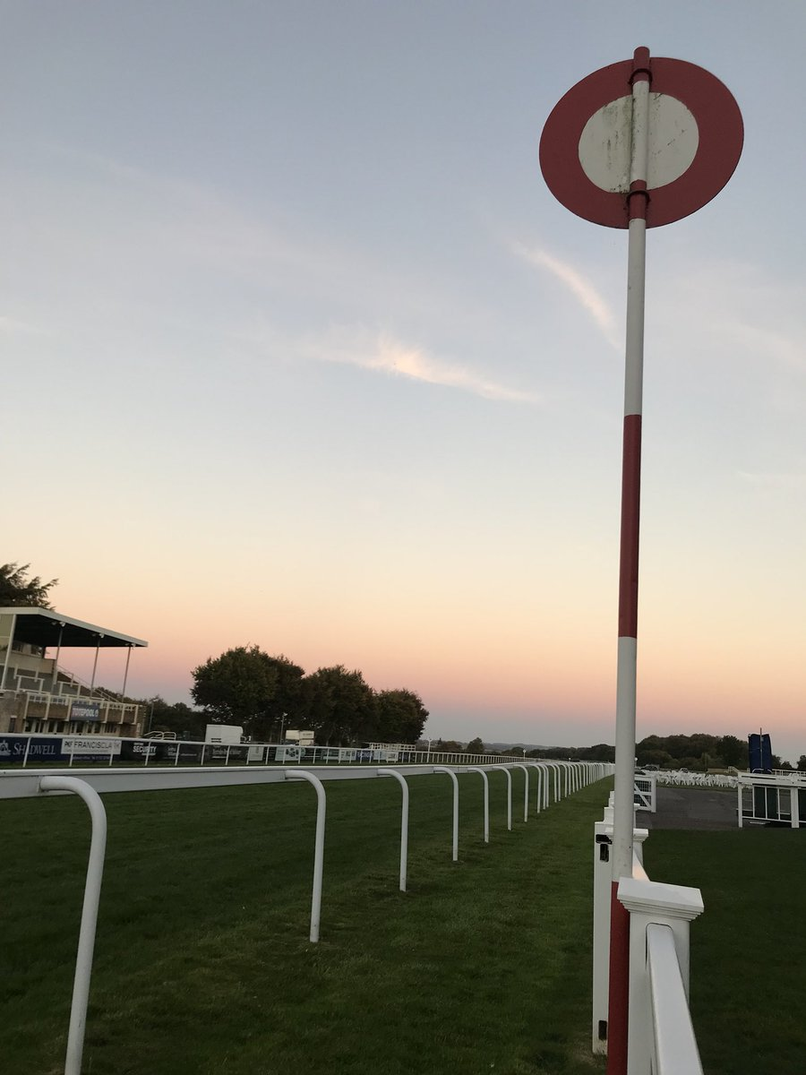 Salisbury Racecourse Finish Line